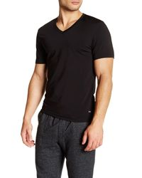 Naked   Black Silver V-neck Shirt for Men   Lyst