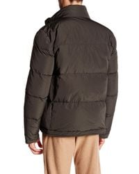 James Perse - Brown Classic Nylon Puffer Jacket for Men - Lyst