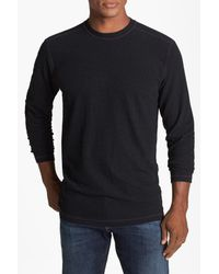 Agave - Black Thermal Crewneck Pullover for Men - Lyst