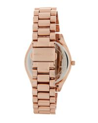 MICHAEL Michael Kors - Multicolor Women's Blake Crystal Accented Bracelet Watch - Lyst