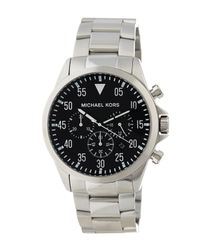 MICHAEL Michael Kors | Multicolor Men's Gage Bracelet Watch for Men | Lyst