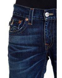 True Religion - Blue Flap Pocket Bootcut Jean for Men - Lyst