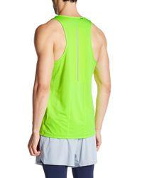New Balance - Green Nb Ice Singlet Sleeveless Top for Men - Lyst