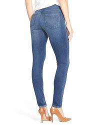 NYDJ | Blue Ami Pull-on Stretch Skinny Jean | Lyst