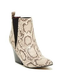 Report | Brown Mynra Bootie | Lyst