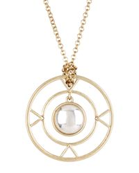 House of Harlow 1960 | Metallic The Four Elements Pendant Necklace | Lyst