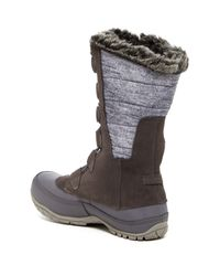 The North Face | Multicolor Nuptse Purna Waterproof Faux Fur Boot | Lyst