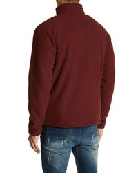 The North Face - Multicolor Textured Funnel Neck Pullover for Men - Lyst