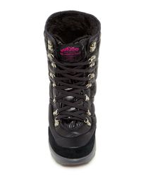 The North Face | Black Thermoball Lace Boot | Lyst