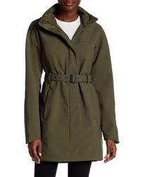 The North Face | Green W Apex Bionic Trench Coat | Lyst
