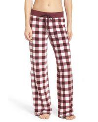 Make + Model | Red Fleece Pajama Pants | Lyst