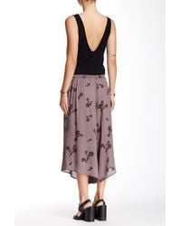 Free People - Multicolor Crossed Paths Culottes - Lyst
