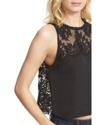 Free People - Black Tied To You Camisole - Lyst
