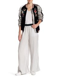 Free People | Multicolor Wide Leg Striped Pant | Lyst
