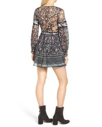 Free People | Multicolor Cherry Blossom Mini Dress | Lyst