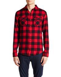 Original Penguin | Red Long Sleeve Buffalo Check Button-down Shirt for Men | Lyst