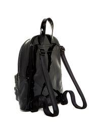 L.A.M.B. - Black Imen Patent Leather Backpack - Lyst