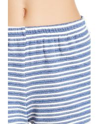 Soprano | Blue Knit Short | Lyst