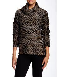 Parker   Black Bellerose Long-sleeve Metallic Sweater   Lyst