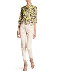 NYDJ - Natural Clarissa Colored Stretch Skinny Ankle Jean (petite) - Lyst