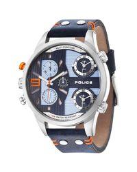12b4866e987 Lyst - Police Men s Copperhead Multi-function 3-hand Date Watch in ...