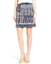 NIC+ZOE - Blue Streak Skirt - Lyst