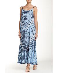 Tiare Hawaii - Blue Rio Double Strap Maxi Dress - Lyst