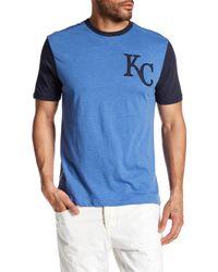 American Needle | Blue Kansas City Royals Domain Crew Neck Tee for Men | Lyst
