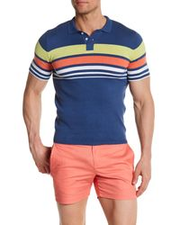 Parke & Ronen - Multicolor Hermosa Knit Polo Shirt for Men - Lyst