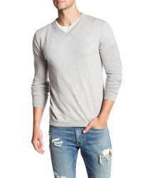 Autumn Cashmere | Gray Cable Knit Cashmere Sweater for Men | Lyst