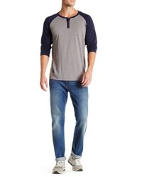 7 For All Mankind - Blue Slimmy Jeans for Men - Lyst