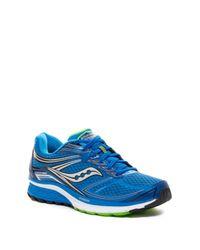 Saucony - Blue Guide 9 Running Shoe for Men - Lyst