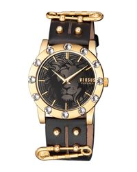 Versus - Black Women's Miami Crystal Quartz Watch - Lyst