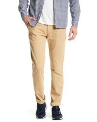 Save Khaki | Natural Galey And Lord Twill Trouser for Men | Lyst