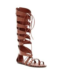 Ivy Kirzhner - Brown Sorcerer T-bar Sandals - Lyst