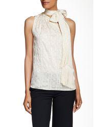 Rachel Zoe   White Erica One-shoulder Silk Blouse   Lyst