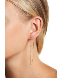 Soko - Metallic Tisa Fringe Threader Earrings - Lyst