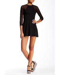 Rachel Pally - Black Marianne Mesh Dress - Lyst