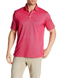 Tommy Bahama | Pink Double Eagle Spectator Short Sleeve Polo for Men | Lyst