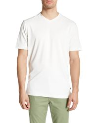 Tommy Bahama | White Pebble Shore Original Fit V-neck Tee for Men | Lyst