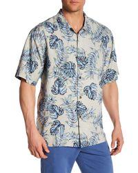 Tommy Bahama | Blue Aqua Fresca Original Fit Short Sleeve Silk Sport Shirt for Men | Lyst