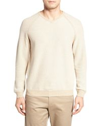 Tommy Bahama | Natural Make Mine A Double V-neck Sweater (reversible) for Men | Lyst