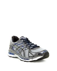 Asics | Black Gel-surveyor 3 Running Shoe for Men | Lyst
