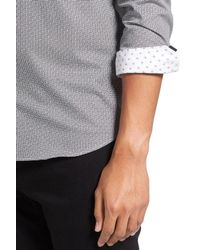 Ted Baker | White Jamidoj Trim Fit Sport Shirt for Men | Lyst