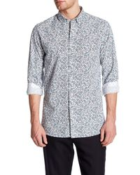 Ted Baker | White Thornie Trim Fit Shirt for Men | Lyst