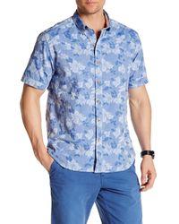 Tommy Bahama | Blue Short Sleeve Pepe Le Bloom Regular Fit Shirt for Men | Lyst