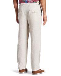 Tommy Bahama - Multicolor Summerland Keys Linen Pant for Men - Lyst