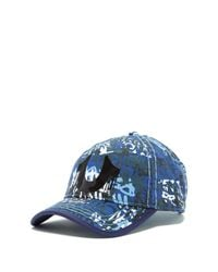 True Religion | Blue Clea Gel Print Ball Cap for Men | Lyst