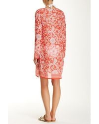 Raj - Red Lotus Tunic - Lyst