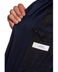 Versace - Blue Notch Lapel Two Button Print Sportcoat for Men - Lyst